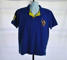 U.S. Polo Assn. Blue Short Sleeve Polo Shirt Men's Sz M