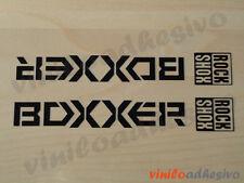 PEGATINA STICKER VINILO Rock Shox Boxxer bike horquilla aufkleber autocollant