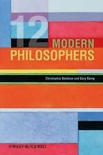 12 Modern Philosophers, Kemp, Gary, Belshaw, Christopher, Good, Hardcover