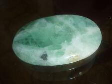 cristalloterapia PIETRA DA PALMO GRANDE FLUORITE cristallo massaggio meditazione