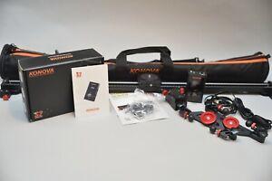 "Konova KMS S2 Motorized 31.5"" Camera Slider Combo Kit"