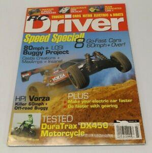 RC Driver March 2010 - Traxxas E-Maxx, Mini Wildcat, HPI Vorza, DuraTrax DX450