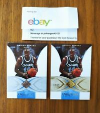 2006-07 06-07 Upper Deck Exquisite base and Gold Dwight Howard /225 /25