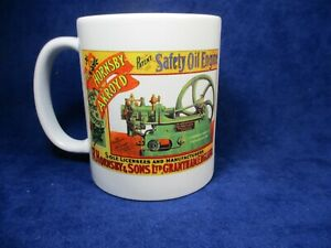 R.Hornsby Lampstart Stationary Engine Mug Ideal for Rallies Meetups Caravan Etc