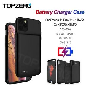 For iPhone12 Pro Mini/ X XR MAX 11 Pro Battery Charger Power Bank Charging Case