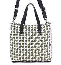 NWT $1200 DOLCE & GABBANA Mens Majolica Cotton Leather Gym Travel Shoulder Bag