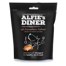 Alfie's Diner Dog Bites Scrumptious Salmon - 100 Gm - Alfies Treats Mark