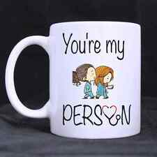 Personalized You're My Person Ceramic Coffee Mug Office Home Valentine Gift DIY