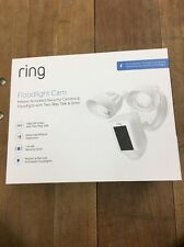 Ring Outdoor Wi-Fi Cam with Motion Activated Floodlight, White