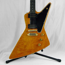 1982 Gibson Explorer E2 Quilted Maple Top QMT w/ Dirty Fingers Pickups E/2