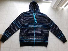 Hoodie Buddie Zip Sweatshirt Jacket Earbuds MP3 Headphones FastShip Men XXL nwot