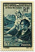 """FRANCE STAMP TIMBRE YVERT N° 417 """" OEUVRES SOCIALES LES ETUDIANTS """" NEUF x TB"""