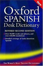 Oxford Spanish Desk Dictionary   :Spanish/English English/Spanish-ExLibrary
