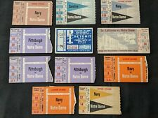 1950s Notre Dame College Football Ticket Stubs (11 tkts)