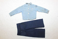 Vintage GI Joe Action 1964 - Carded Navy Attack Work Shirt/Non-Denim Dungarees