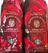 2 pounds Starbucks Christmas Blend Espresso Roast Whole Bean Coffee - 2019