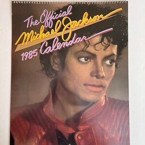 Michael Jackson Officially Licensed Thriller Oversized Calendar 1985 (Used)