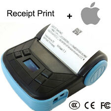 Portable Bluetooth 80mm Thermal POS Receipt Printer Mobile Pinter for Apple IOS