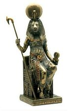 Sekhmet Sehkmet Statue Egyptian Lion Ancient Mother Goddess Enthroned #WU75699A4