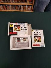 Fifa International Soccer SNES Boxed with manual and PAL