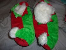 NEW NWOT ELF SLIPPERS CHRISTMAS SIZE SMALL MEDIUM