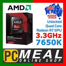 AMD A8-7650K 3.3GHz UNLOCKED Quad Core APU BLACK EDITION FM2+ CPU GPU Desktop PC