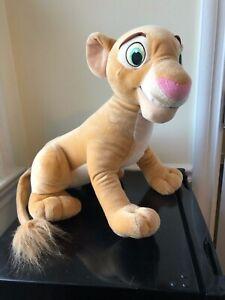 "Disney Lion King Nala Large Jumbo 17"" Plush Stuffed Animal Big Doll Hasbro A+"