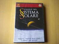 Viaggio nel sistema solare. Saturno, signore degli anelli DVD scienza astronomia