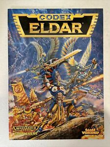 Games Workshop Warhammer 40K CODEX: ELDAR 1994 Warhammer 40,000 OOP