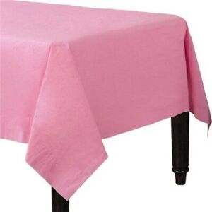 PAPER Table Cloths   *PACK OF 2*   Party Table Cloth Covers Disposable Birthday