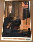 Godfather 3 III Poster Screen Print SIGNED Numbered Laurent Durieux Mondo Mafia