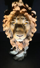 "VERONESE DESIGN Figurines Sculpture King Of The Beasts  Art  13"" Tall"