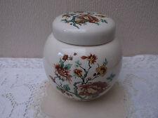 Sadler Floral Ginger Jar - Made in England - Good condition