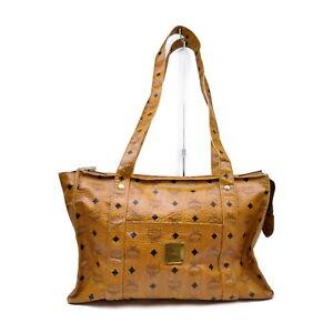 MCM Tote Bag  Browns PVC 1424234