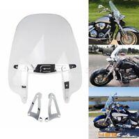 Clear Motorcycle Windshield Windscreen For Honda VTX1300 VTX1800 C F N R S T New