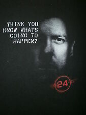 24 T JACK BAUER SHIRT Keifer Sutherland Think You Know What'S Going To Happen S