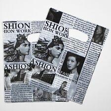like news paper 2016 hot sell style Plastic bags Free ship 50pcs/lot 30X40cm
