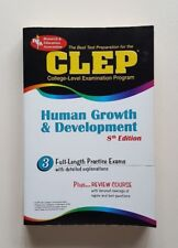 CLEP Human Growth and Development Test Prep 8th Edition Patricia Heindel, PHD