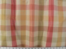 Horston Plaid Sorbet 100% Polyester Fabric