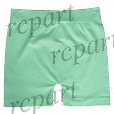 New Women's Nylon Spandex Boxer Briefs Under pants Solid Color One Size