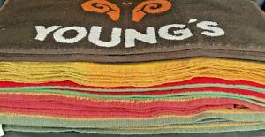 VARIOUS NEW BAR TOWELS - PUB HOME BAR MAT RUNNER