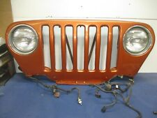 Jeep Wrangler TJ Grille Shell Radiator Support AMBER FIRE  Headlight 97-06 2001