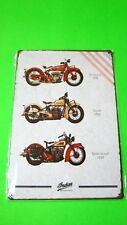 ((1928,32,39 INDIAN SCOUT MOTORCYCLES)) Tin SIGN Home Wall Decor Metal Plaque