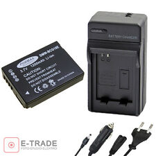 DMW-BCG10E // Battery + CHARGER for Panasonic Lumix TZ7 TZ8 TZ10 DMC-TZ20