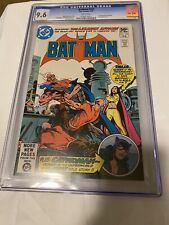 Batman #332 CGC 9.6 1981 1st App If Cat Woman, Press And Possible Re-grade 9.8?