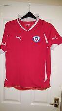 Mens Football Shirt - Chile - Home 2010-2011 Puma - South America National Team
