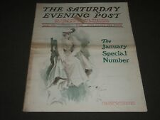1903 JANUARY 24 THE SATURDAY EVENING POST MAGAZINE - ILLUSTRATED COVER - SP 680