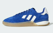 Adidas Originals Skateboarding 3ST.004 Blue Nubuck & White Stripes (UK 8) BNIBWT