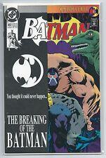 Batman 497 - 2nd print variant cover Bane breaks Batman's back classic