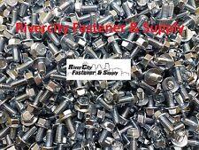 (200) M6-1.0 x 12 / M6x12 Metric Hex Flange Bolts Grade 10.9 DIN 6921 6mm x 12mm